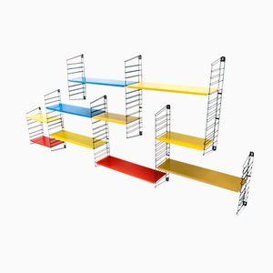 Dutch Industrial Modular Wall Unit by D.Dekker for Tomado, 1960s