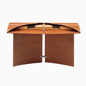 Walnut Carlton House Desk by J. Tresserra, 1988