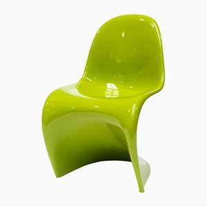 The Panton Chair in Chartreuse by Verner Panton for Vitra, 2006