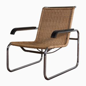 Vintage Model B35 Chair by Marcel Breuer for Thonet