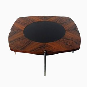 Rosewood Petal Low Table, 1960s
