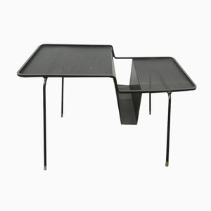 Coffee Table with Magazine Rack by Mathieu Mategot, 1950s
