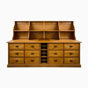 Shop Buffet with Six Drawers and Wine Rack, 1900s