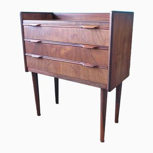 Danish Small Rosewood Commode, 1960s