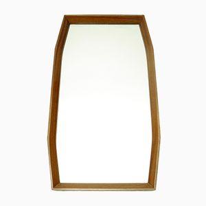 Mid-Century Italian Cherry Wood Mirror