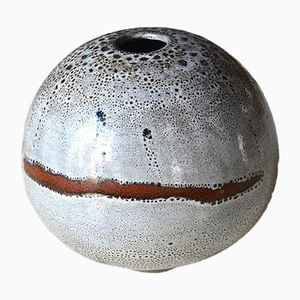 Vintage Bowl Vase by Daniel de Montmollin