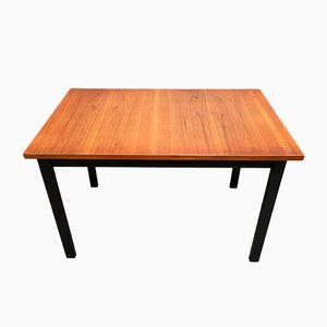 Mid-Century High Teak Table