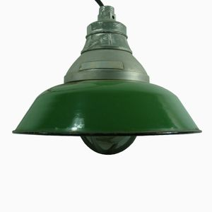 Italian Industrial Hanging Lamp from SIET, 1960s