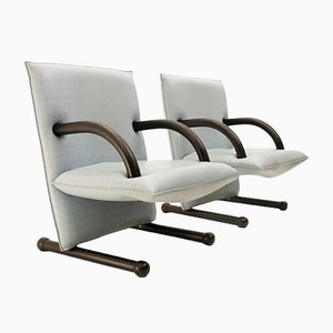 T-Line Armchairs by Vogtherr Burkhard for Arflex, 1984, Set of 2