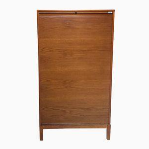 Vintage Wooden Filing Cabinet from Kinnarps
