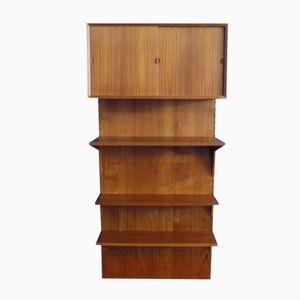 Danish Teak Shelving System by Poul Cadovius for Cado, 1960s