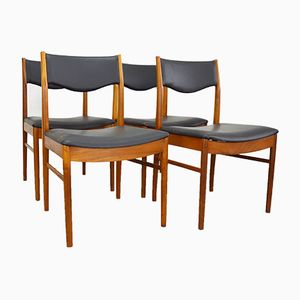Mid-Century Teak Chairs from McIntosh, Set of 4
