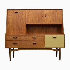 Mid-Century Teak Highboard von G-Plan, 1960er