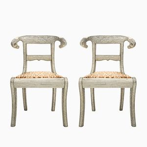Repousse Vanity Chairs, 1960s, Set of 2
