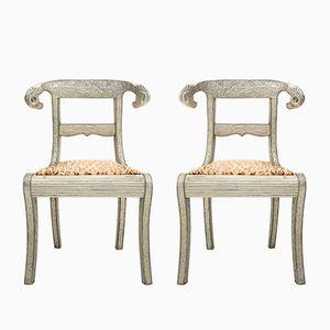 Repousse Vanity Stühle, 1960er, 2er Set