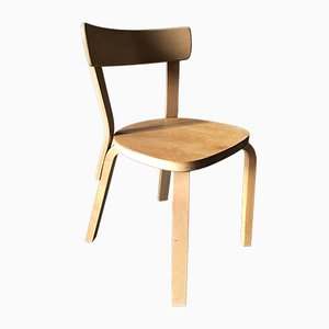 Vintage Modell 69 Stuhl von Alvar Aalto für Artek