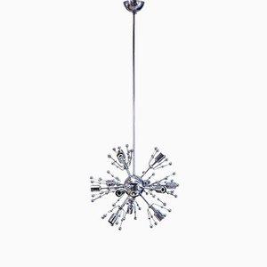 12-Armed Sputnik Chandelier by Gaetano Sciolari, 1960s