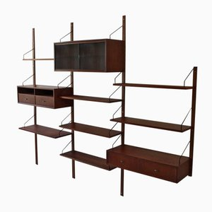 Danish Royal System Wall Unit by Poul Cadovius for Cado