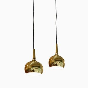 Suspension Pendants by Hans Agne Jakobsson, Set of 2