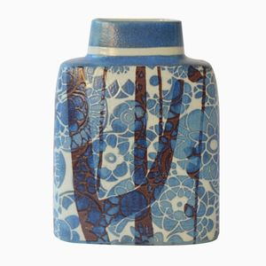 Dänische Mid-Century Vase in Kissenform von Johanne Gerber für Royal Copenhagen
