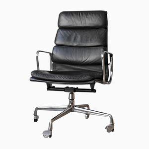 EA 219 Soft Pad Chair von Charles & Ray Eames für Herman Miller, 1970er