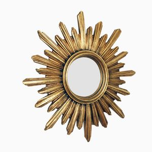 Vintage Sunburst Mirror, 1960s