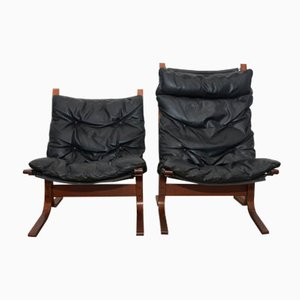 Vintage Siesta Armchairs by Ingmar Relling for Westnofa, Set of 2