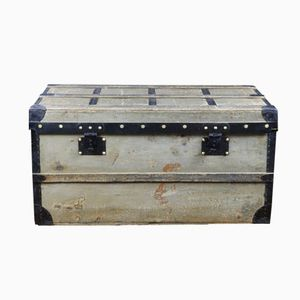 Antique Grey Trianon Canvas Trunk from Louis Vuitton