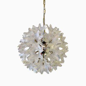 Murano Glass Flower Chandelier, 1960s