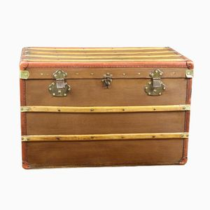 French Canvas Trunk, 1920s