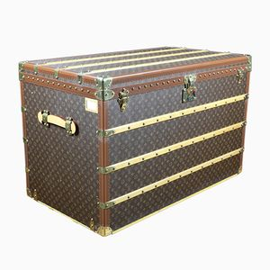 Vintage Steamer Trunk from Louis Vuitton, 1980s