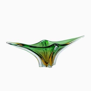 Green Vintage Murano Centrepiece