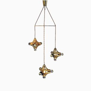 German Cascade Chandelier from Cosack, 1970s