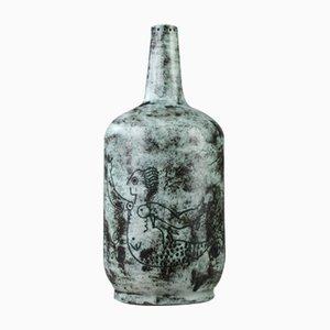 Vase en Céramique Mid-Century par Jacques Blin