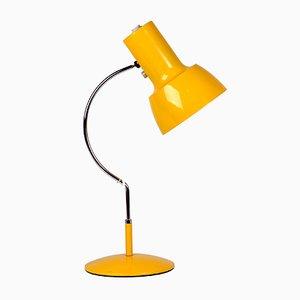 Gelbe Modell 0521 Tischlampe von Josef Hurka für Napako, 1970er