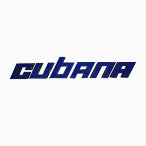 Vintage Cubana Buchstaben, 1982
