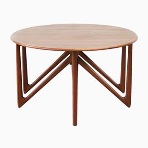 Mid-Century Danish Dining Table by Kurt Østervig for Jason Møbler