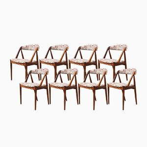 Mid-Century Model 31 Dining Chairs by Kai Kristiansen for Schou Andersen, Set of 8