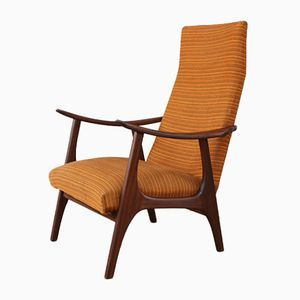 Mid-Century Danish High Back Armchair