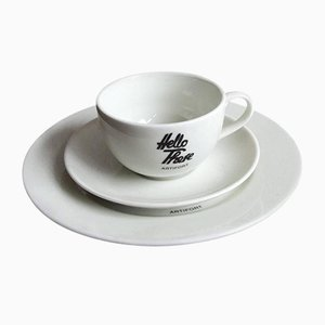 Hello There Breakfast Set by Jeremy Harvey for Artifort, 1990s