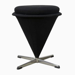 K3 Low Cone Stool by Verner Panton for Rosenthal, 1970s