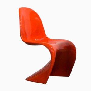 Orangenfarbener Stuhl von Verner Panton für Herman Miller, 1970er