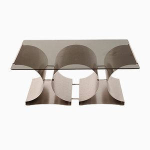 Mid-Century Coffee Table by Francois Monnet for Kappa, 1970s