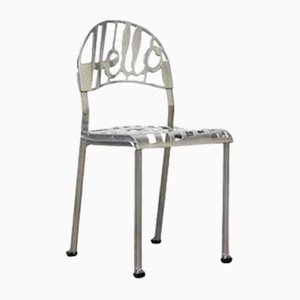 Vintage Chrome-Plated Hello There Chair by Jeremy Harvey for Artifort