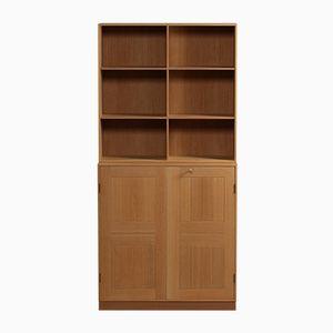 Mid-Century Book Cabinet by Mogens Koch for Rud Rasmussen