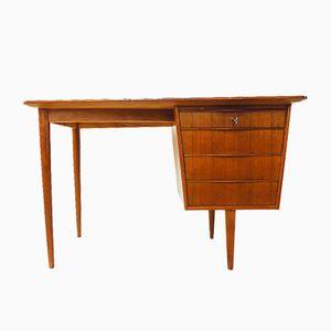 Vintage Small Teak Writing Desk