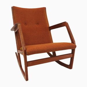 Vintage Model 100 Rocking Chair by Georg Jensen for Kubus