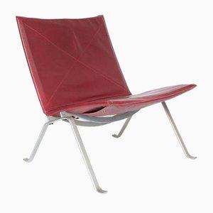 Mid-Century PK22 Lounge Stuhl von Poul Kjaerholm für E. Kold Christensen