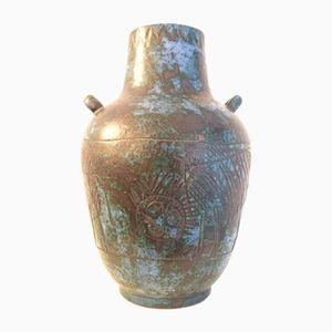 Vintage Ceramic Vase by Jacques Blin