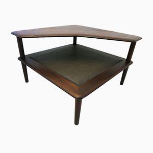 Minerva Teak Coffee Table by Peter Hvidt for France & Søn, 1960s
